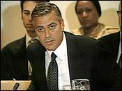 George Clooney @ UN Security Council on September 14, 2006
