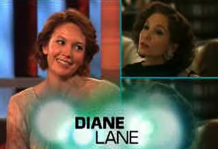 Diane Lane on Ellen
