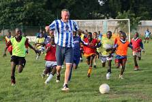 Fatboy Slim with Coaching for Hope