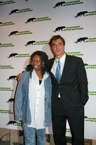 Whoopi Goldberg & Chris Noth
