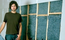 Adrian Grenier & his recycled denim insulation