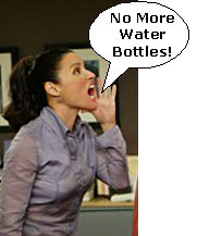Old Christine Says No More Water Bottles