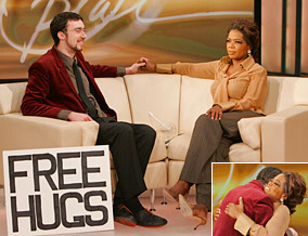Free Hugs on Oprah
