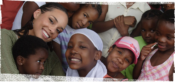 Alicia Keys & Keep A Child Alive