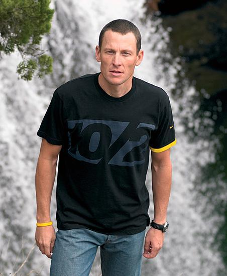 Lance Armstrong @ Dead Man's Hole. Photo via Nike Cycling.