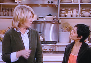 Martha Stewart with Simran Sethi
