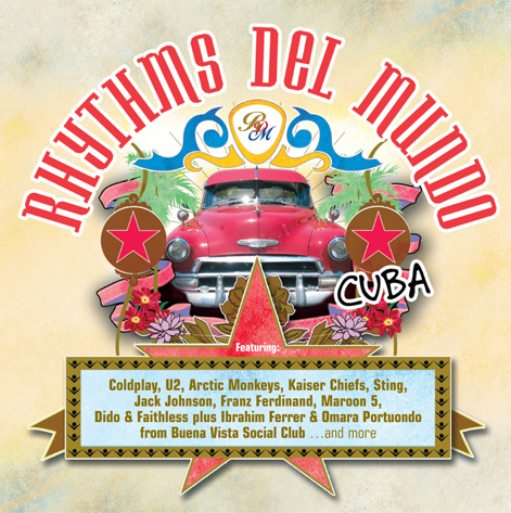 Rhythms del Mundo, Album Cover