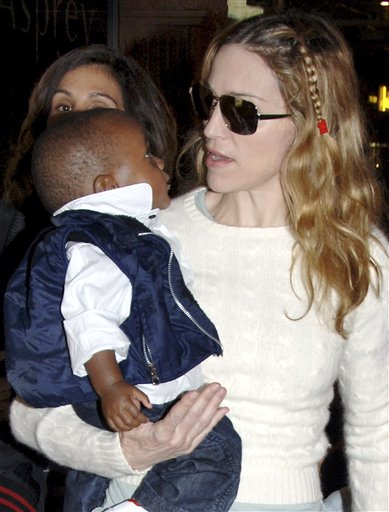Madonna & baby David