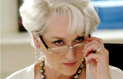 Meryl Streep in The Devil Wears Prada