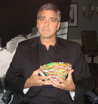 George Clooney & Catchall Basket