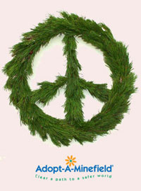 Organic Bouquet's Peace Wreath