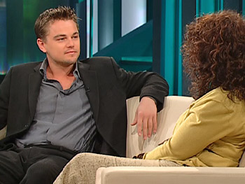 Leonardo DiCaprio on Oprah, December 4, 2006