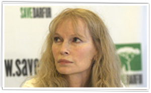 Mia Farrow at Press Conference about Darfur, Nov 2006