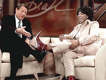 Oprah & Al Gore back in 2004