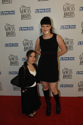 Pauley Perrette and Boston Legal's Meredith Eaton-Gilden