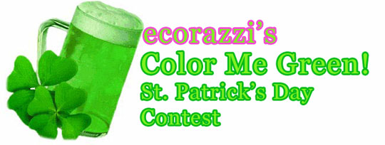 Ecorazzi's Color Me Green Contest