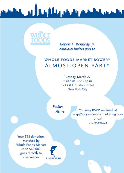 Whole Foods Invitation