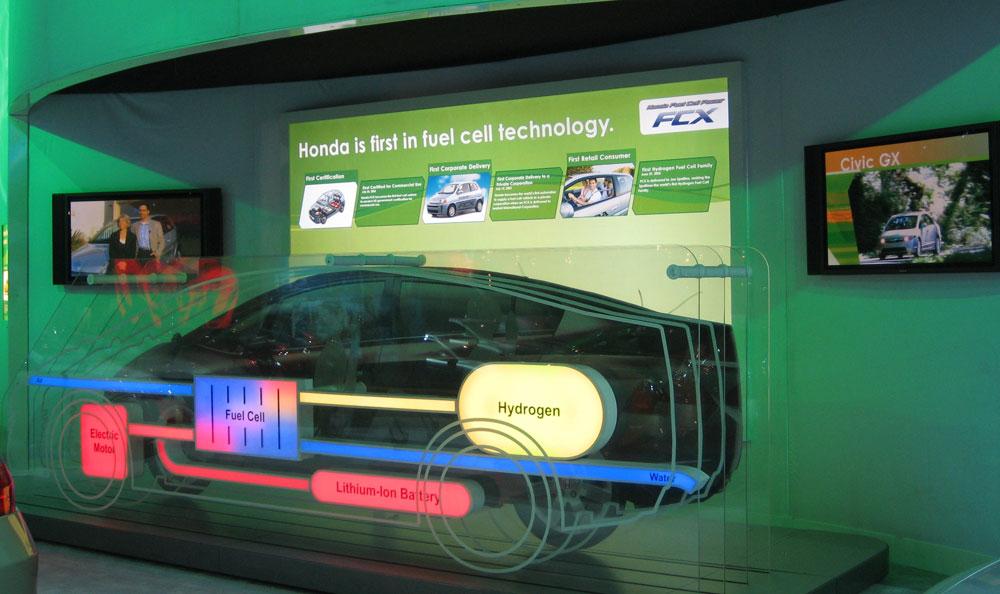 Honda FCX Concept @ NY Auto Show 4/2007