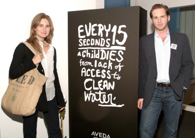 "Josh Lucas & Lauren Bush, ""Dying for a Drink"", April 11, 2007"