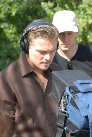 Leonardo DiCaprio Shooting 11th Hour