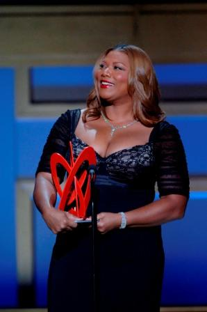 Queen Latifah at the 2006 Glamour Women of the Year Awards