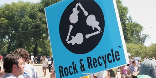 Rock & Recycle. Photo credit: Jason Crawford