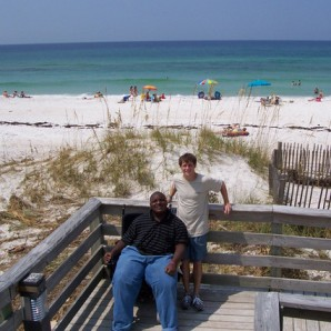 Darius Weems' First Visit to the Beach