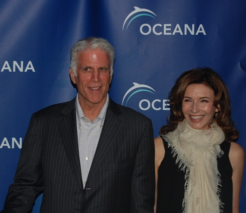 Ted Danson & Mary Steenburgen at 2007 Oceana Partner Awards. Photo credit: Melissa Rosenberg.