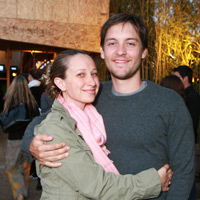 Toby Maguire & Jennifer Meyer @ Project7Ten