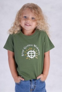 MyConservationBaby.com Stop Global Warming Tee