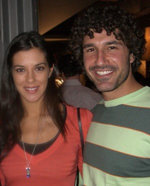 Survivor champs Jenna Morasca and Ethan Zohn. Photo credit: Melissa Rosenberg.