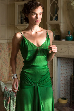 keira knightley in silk