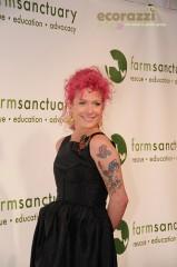 Ashley Lou Smith at the 2008 Farm Sanctuary Gala