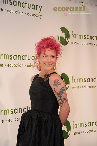 Ashley Lou Smith at the 2008 Farm Sanctuary Gala