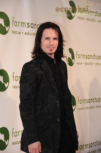 Hal Sparks at the 2008 Farm Sanctuary Gala