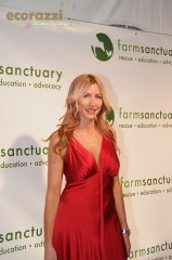 Heather Mills at the 2008 Farm Sanctuary Gala