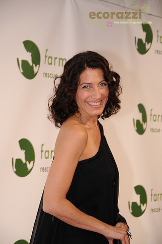 Lisa Edelstein at the 2008 Farm Sanctuary Gala