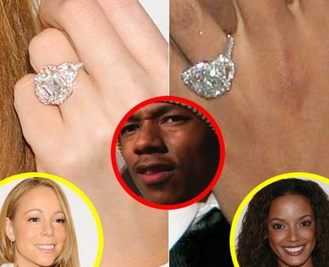 Most popular wedding rings Nick cannon wedding ring mariah carey