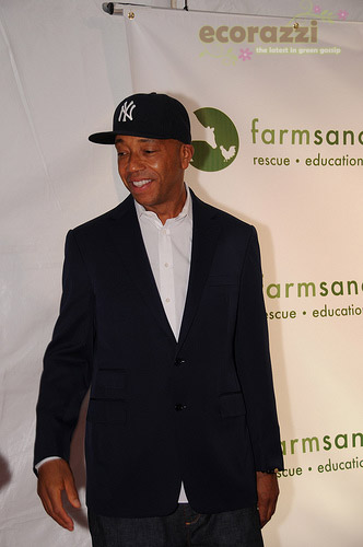 Russell Simmons at the 2008 Farm Sanctuary Gala