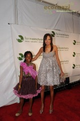 Tru and Keisha Whitaker at the 2008 Farm Sanctuary Gala