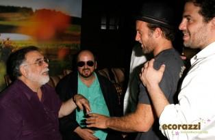 Francis Ford Coppola, Scott Caan and Brett Ratner at the Jurlique Biodynamic BBQ