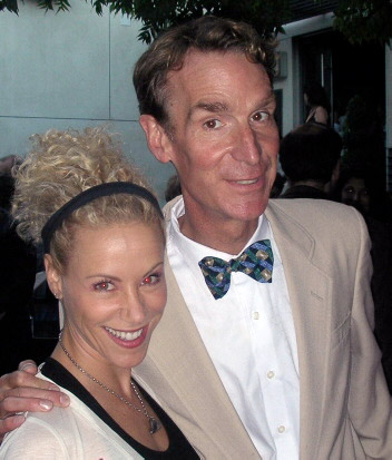 Tracy Metro and Bill Nye The Science Guy