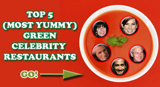 green celebrity restaurants