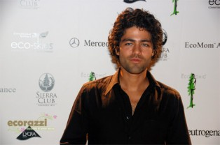 Adrian Grenier at the 2008 Be Eco Chic Launch Party -- Photo credit: Melissa Rosenberg
