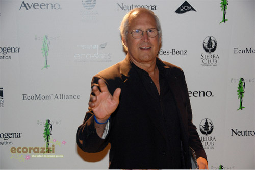 Chevy Chase at the 2008 Be Eco Chic Launch Party -- Photo credit: Melissa Rosenberg