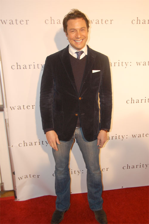 Rocco DiSpirito at charity: water