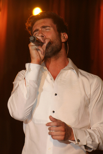 Adam Levine, of Maroon 5