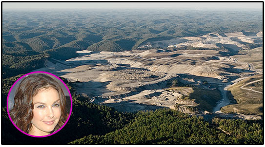 ashley judd, mountaintop removal, sierra club, environment