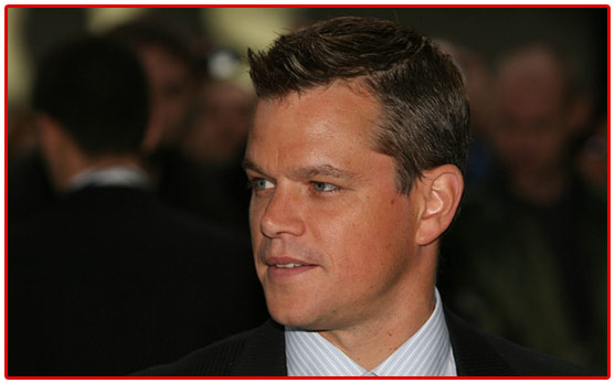 mattdamon, refugee, not on our watch, george clooney, zimbabwe