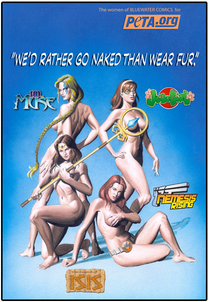 naked comic book characters